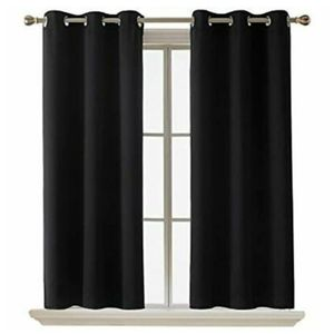 Black-out curtain panels